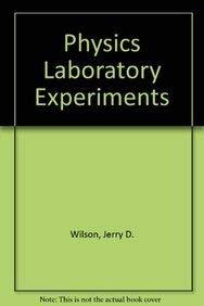 9780669189070: Wilson Physics Lab Experiments 3e