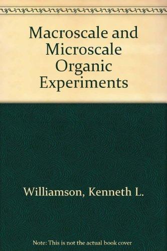 9780669194296: Macroscale and Microscale Organic Experiments