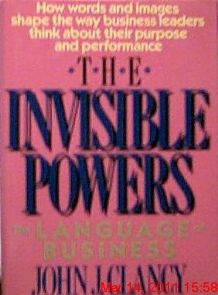 9780669195422: The Invisible Powers: The Language of Business (Issues in Organization and Management Series)