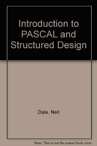 9780669202380: Introduction to PASCAL and Structured Design