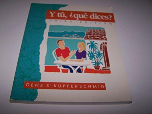9780669204919: Y tú, qué dices? (Spanish Edition)