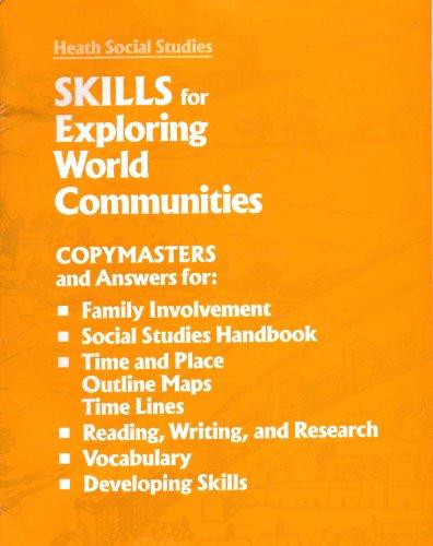 9780669205190: Skills for Exploring World Communities, Grade 3 (Heath Social Studies)