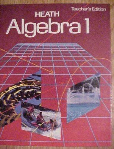 9780669208467: Heath Algebra 1