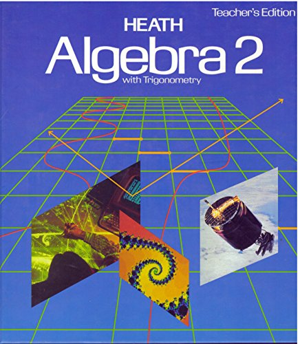 9780669208542: Heath Algebra 2 with Trigonometry
