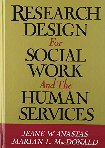 9780669209372: Research Design for Social Work and the Human Services