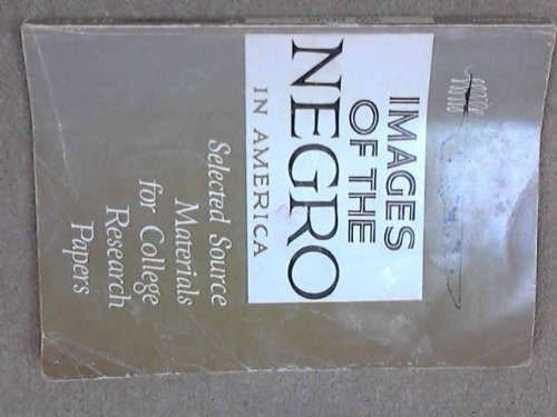 9780669216424: Images of the Negro in America (College)