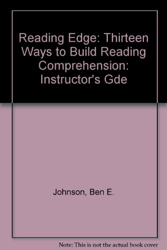 9780669217438: Reading Edge: Instructor's Gde: Thirteen Ways to Build Reading Comprehension