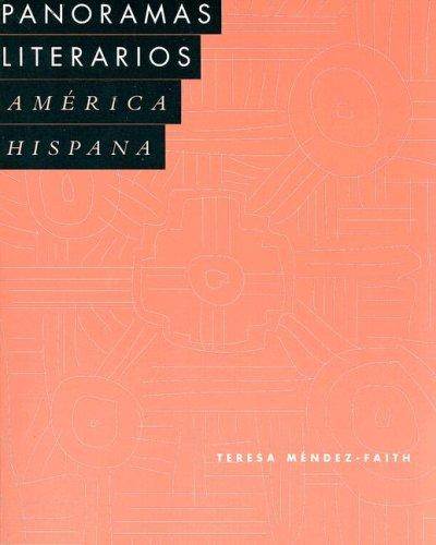 9780669218053: Panoramas literarios: America hispana (v. 2)