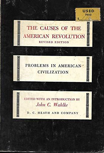 9780669236064: Causes of American Revolution