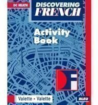 9780669239218: McDougal Littell Discovering French Nouveau: Activity Workbook Level 1