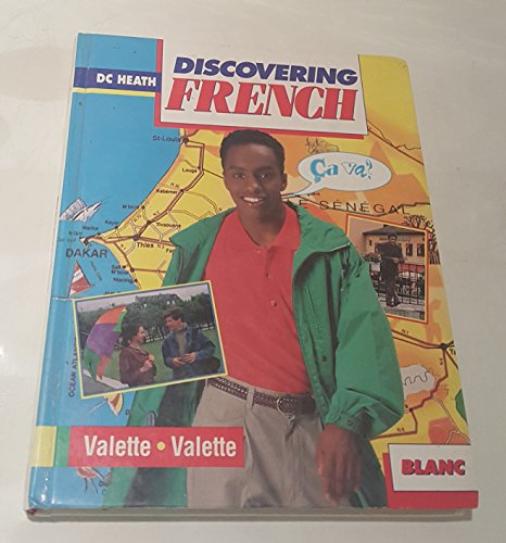 9780669239362: Discovering French: Blanc