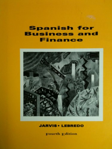9780669242980: Spanish for Business and Finance