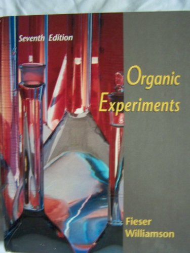 9780669243444: Organic Experiments (College)