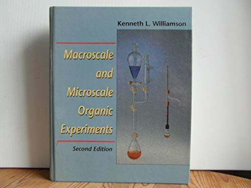 9780669243468: Macroscale and Microscale Organic Experiments, Second Edition