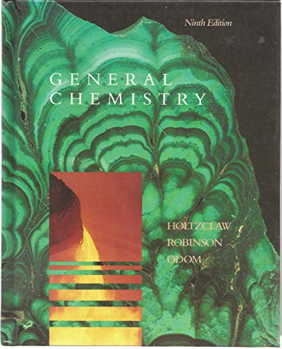 General Chemistry: Henry F. Holtzclaw