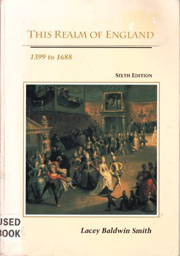 9780669244588: Making of England, 55 B.C. to 1399: This Realm of England, 1399 to 1688