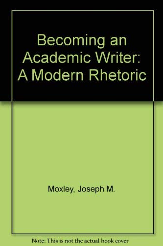 9780669244960: Becoming an Academic Writer