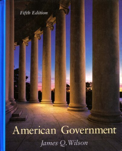 9780669247701: American Government Institutions and Policies (5th ed)