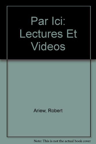 Par Ici: Lectures Et Videos: Ariew, Robert