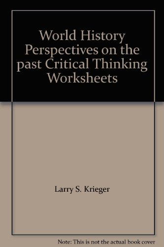 9780669256048: World History Perspectives on the past Critical Thinking Worksheets