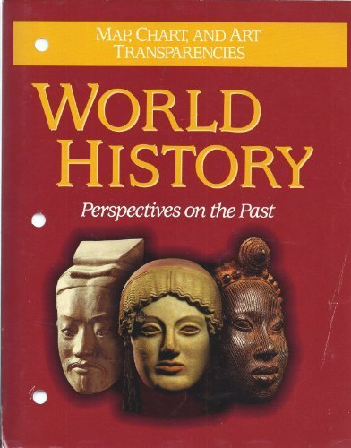 9780669256161: World history: Perspectives on the past : map, chart, and art tranparencies