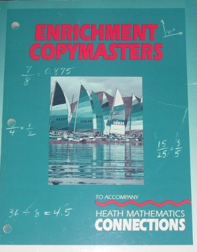 9780669256543: Heath Mathematics Connections (Enrichment Copymasters, Level 5 (grade 5))