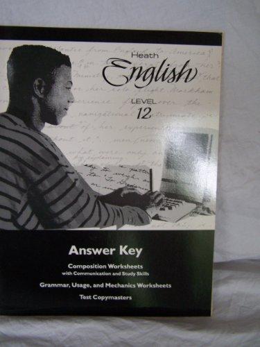 9780669261646 Heath English Level 12 Answer Key Composition