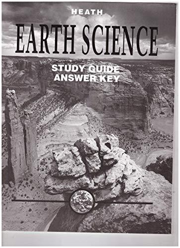 9780669261905: Earth Science Study Guide Answer Key
