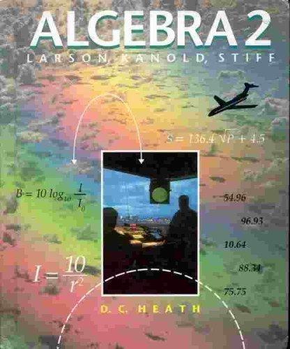 9780669267518: Algebra 2