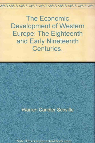 9780669269147: The Economic Development of Western Europe