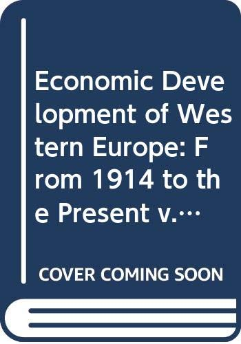 9780669269482: Economic Development of Western Europe: From 1914 to the Present v. 5
