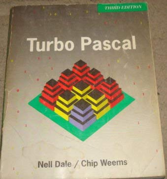 Turbo PASCAL (0669269514) by Nell B. Dale; Chip Weems; Nell Dale
