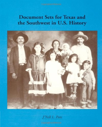 9780669271096: Regional Document Sets: Document Sets for Texas and the Southwest in U.S. History