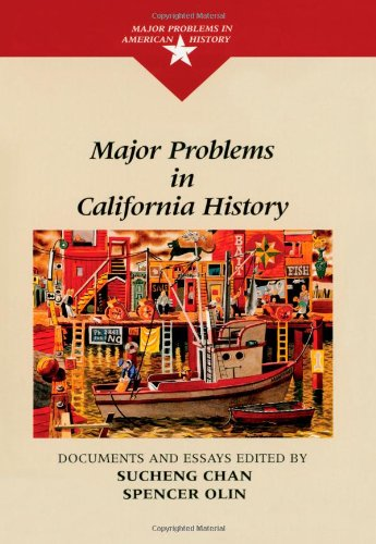 9780669275889: Major Problems in California History