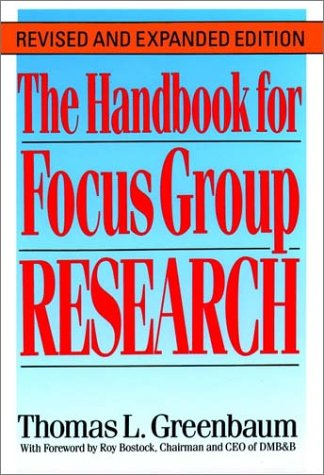 9780669277999: The Handbook for Focus Group Research