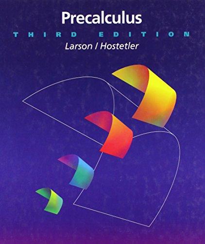 9780669283105: Precalculus