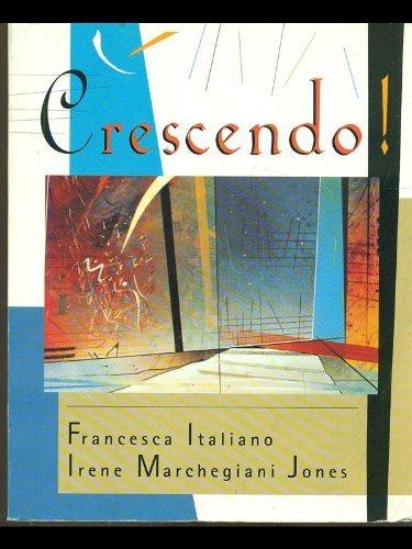 9780669287769: Crescendo!: Quaderno Degli Esercizi E Manuale D'Ascolto