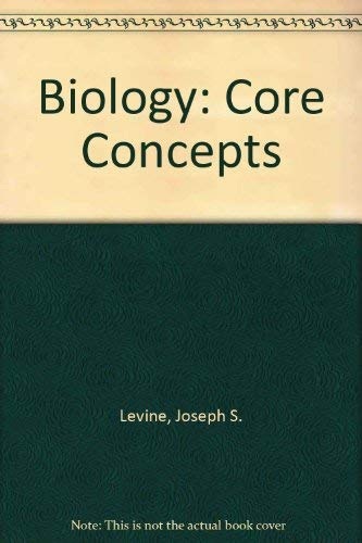 9780669288407: Biology: Core Concepts