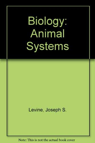 9780669288438: Biology: Animal Systems