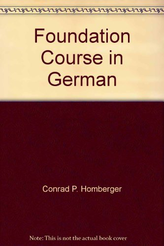 9780669292640: Title: Foundation Course in German