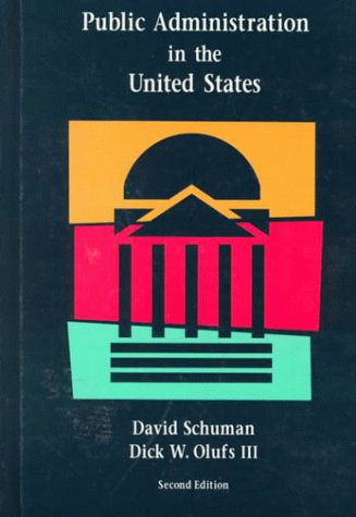 9780669294118: Public Administration in the United States