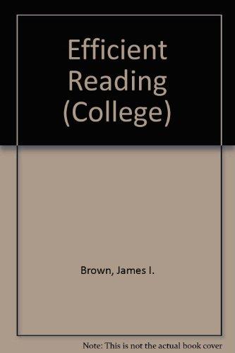 9780669297584: Efficient Reading (College)