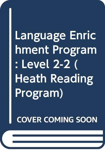 9780669301953: Language Enrichment Program: Level 2-2 (Heath Reading Program)