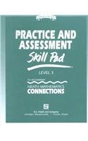 9780669309805: DC Heath Math Connections: Practice & Assessment Skillpad Grade 3 (Heath Mathematics Connections/Conexiones)