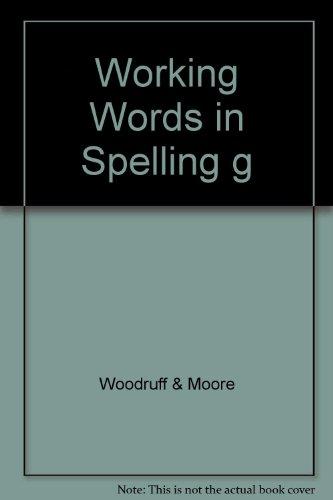 "Working Words in Spelling ""g"""