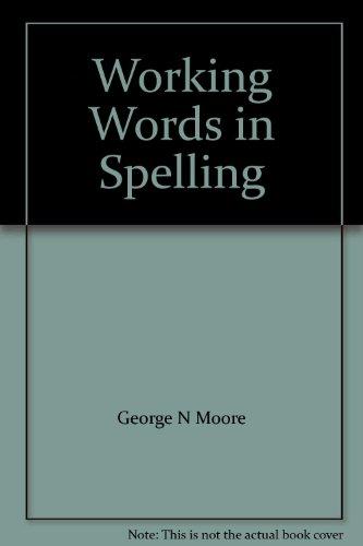 9780669314076: Working Words in Spelling