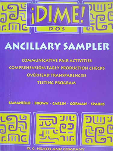 Dime! Ancillary Sampler (0669314692) by [???]