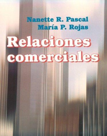 9780669325799: Relaciones Comerciales