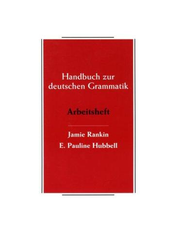 9780669326543: Handbook Zur Deutschen Grammatik