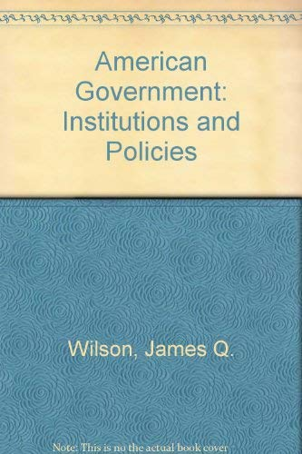 9780669326772: American Government: Brief Version